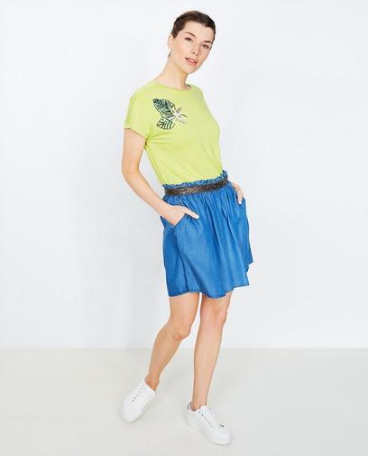 Limoengroen T-shirt